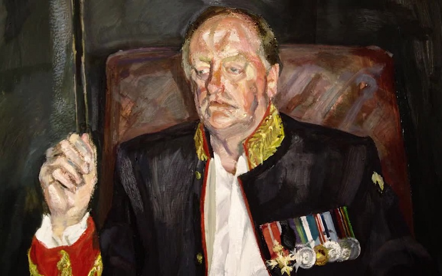 Lucian Freud's The Brigadier