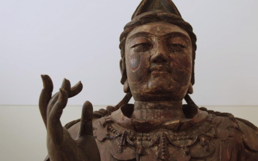 [转载]佳士得秋拍北宋木雕观音坐像7050万港元落槌