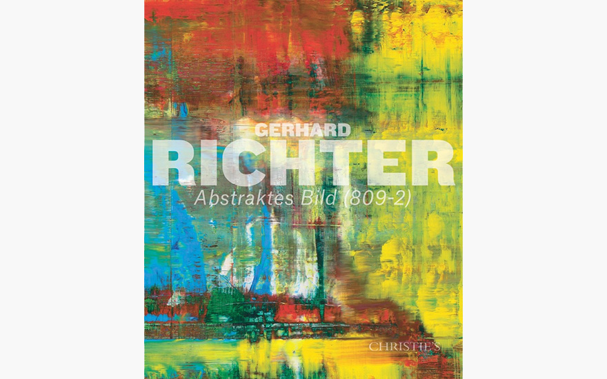 Special Publication: Gerhard Richter's Abstraktes Bild (809-2)