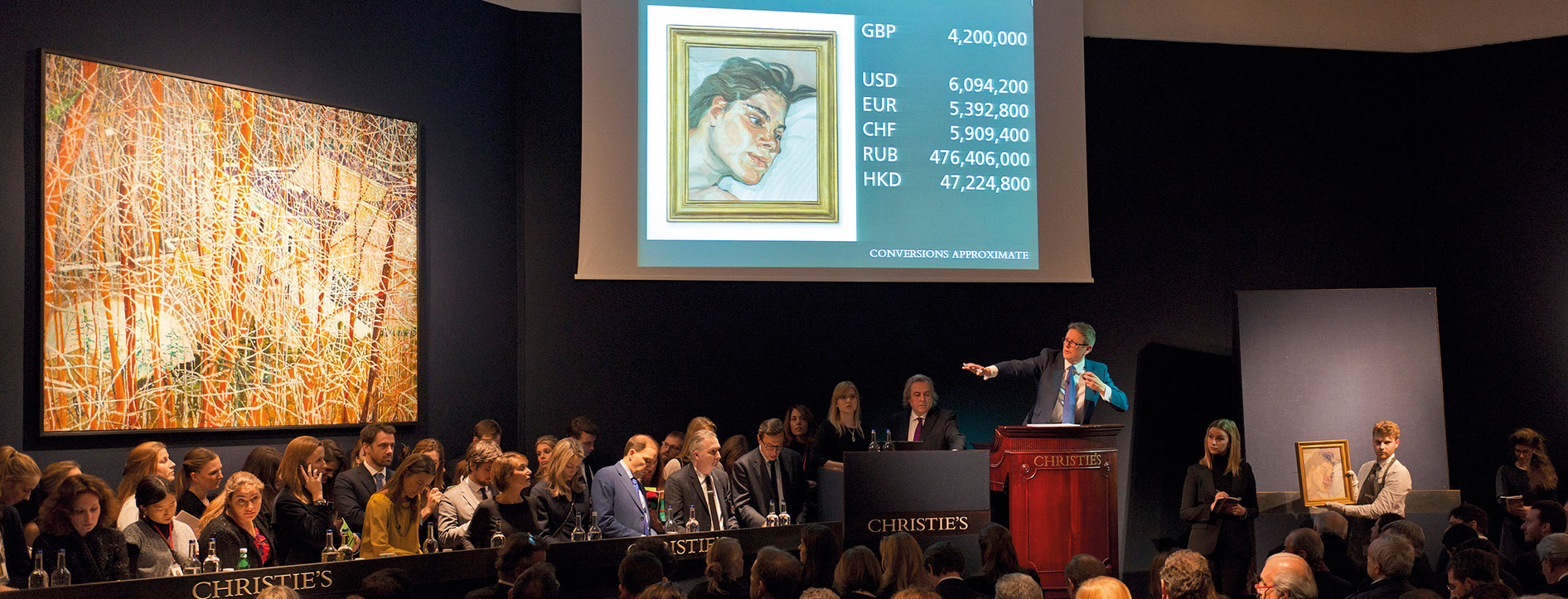 Post-War and Contemporary Art | 20th Century at Christie's | London |  February 2016 | Christie's