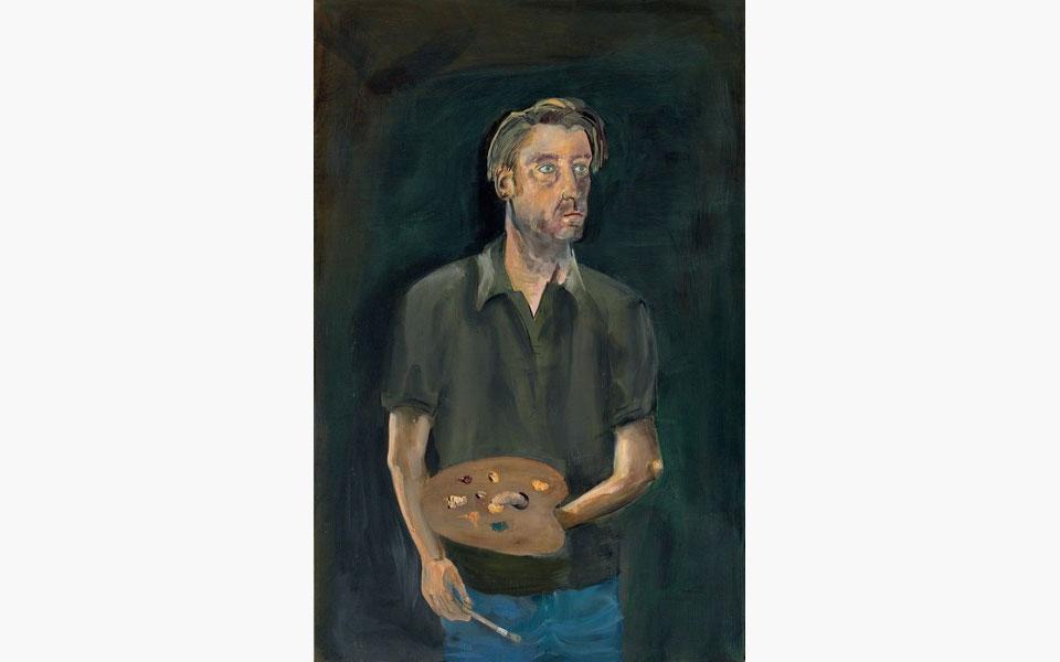 Special Publication: Albert Oehlen's Selbstporträt mit Palette (Self-portrait with Palette)