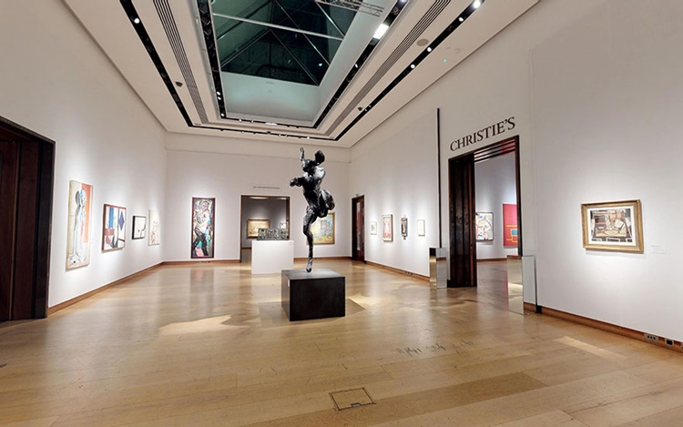 Virtual tour: The best of Brit auction at Christies