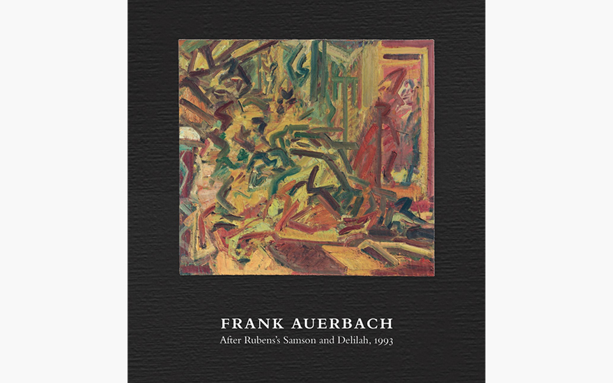 Special Publication: Frank Auerbach, After Rubens's Samson and Delilah