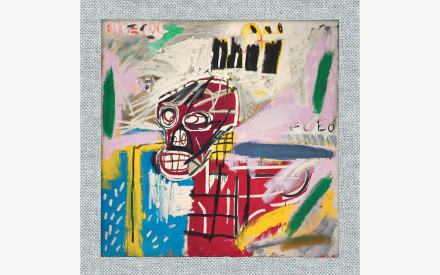 Special Publication: Jean-Michel Basquiat, Red Skull