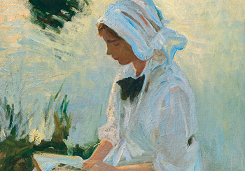 John Singer Sargent (1856–1925), Girl reading by a stream, c.1888, Estimate: £1,000,000–1,500,000