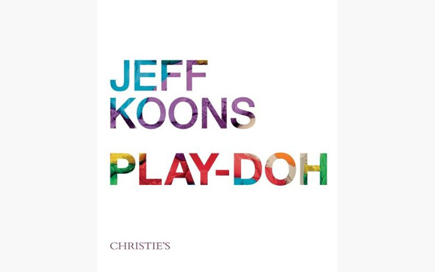 Special Publication: Play Doh by Jeff Koons