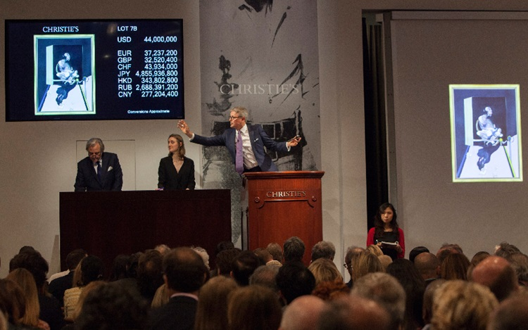 Bacon stars as season total mo auction at Christies