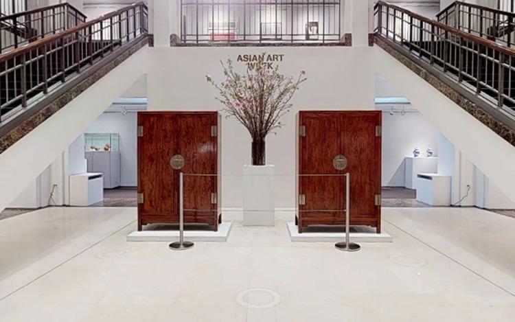 Virtual Tour: Asian Art Week,  auction at Christies