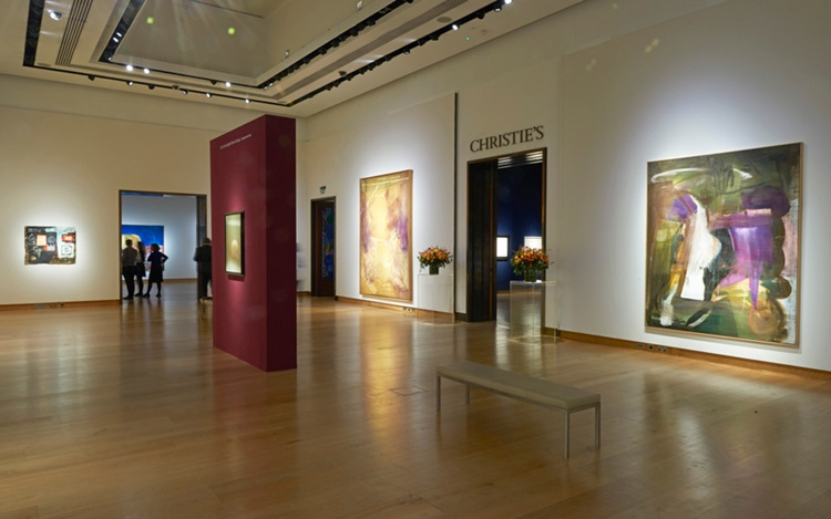 Virtual tour: Frieze Week at C auction at Christies