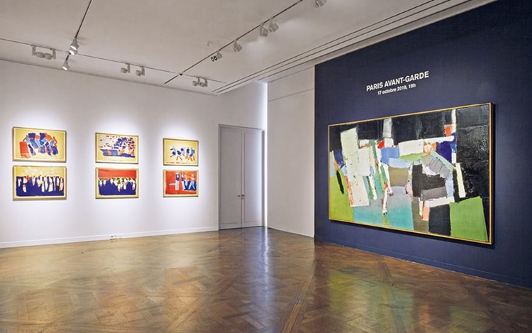 Virtual tour: Modern, Post-War auction at Christies