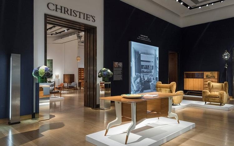 Virtual tour: Design at Christ auction at Christies