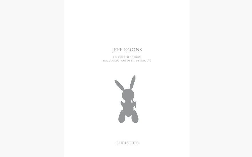 Special Publication: Jeff Koons - A Masterpiece from the Collection of S.I. Newhouse