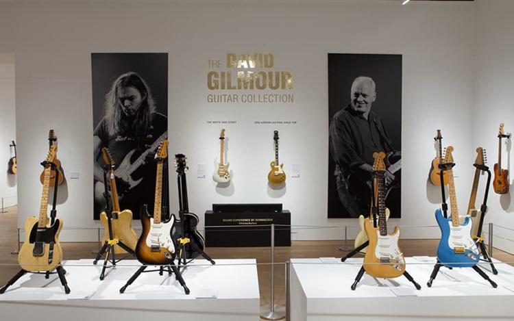 Virtual tour: The David Gilmou auction at Christies