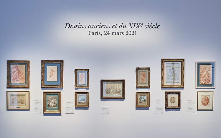 Virtual tour: Old Master Drawi auction at Christies