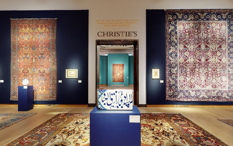 Virtual tour: Art of the Islam auction at Christies
