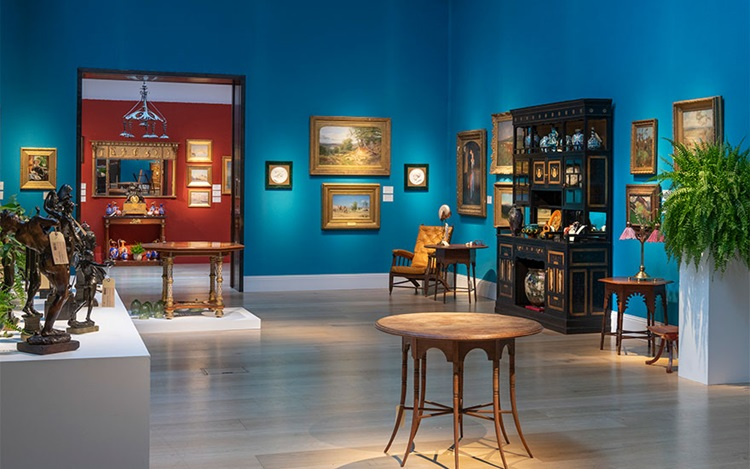 Virtual tour | An Aesthetic Od auction at Christies