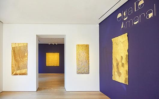 Virtual tour | Olga de Amaral  auction at Christies