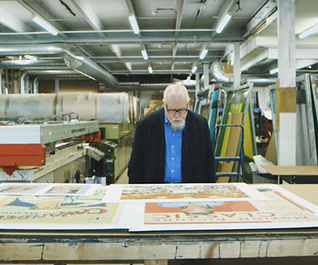 Studio visit: Sir Peter Blake