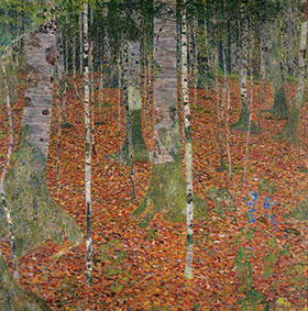 Christies Restitution Klimt Birch Trees