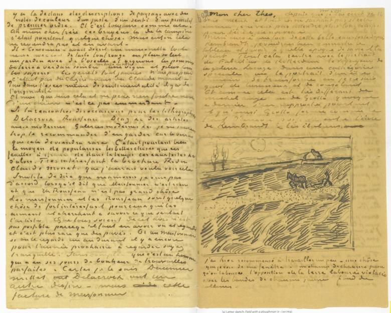 Vincent Van Gogh, letter to Theo Van Gogh, September 1889