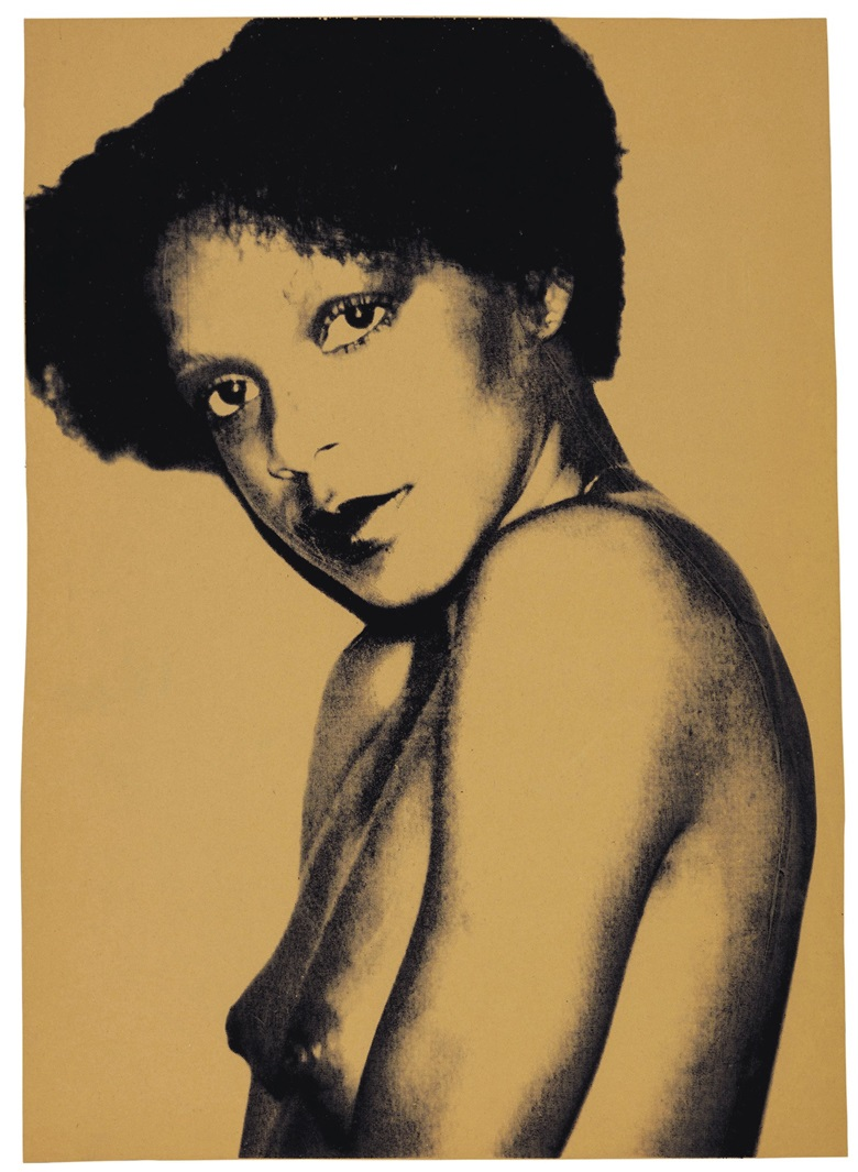 Andy Warhol (1928-1987), Corice Arman Portrait, 1979. Sheet 40¼ x 28⅛ in (1022 x 714 mm). Estimate                     $8,000-12,000. This lot is offered in Screen Star Alexander Heinrici, Master Printer, 17-26 October 2017, Online