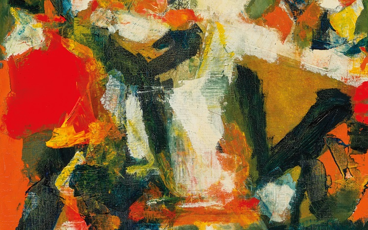 S.H. Raza in 10 questions auction at Christies