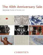 40th Anniversary Sale auction at Christies