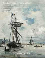 Old Masters & 19th CenturyArt  auction at Christies