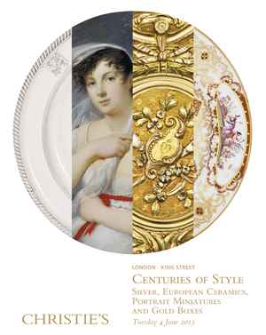 Centuries of Style auction at Christies