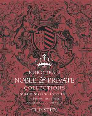 European Noble & Private Colle auction at Christies