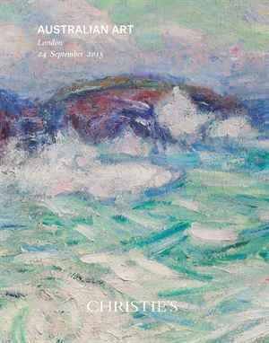 澳洲艺术 auction at Christies
