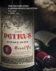 Finest and Rarest Wines; A Sup auction at Christies