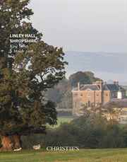 Linley Hall, Shropshire: Prope auction at Christies