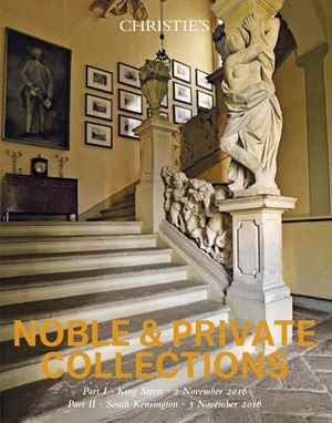 Noble & Private Collections Pa auction at Christies