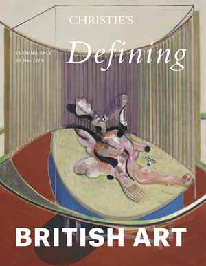 Defining British Art Evening S auction at Christies