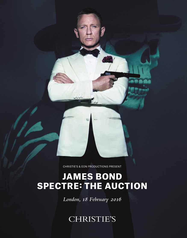 JAMES BOND SPECTRE THE AUCTION