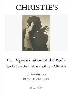 The Representation of the Body auction at Christies