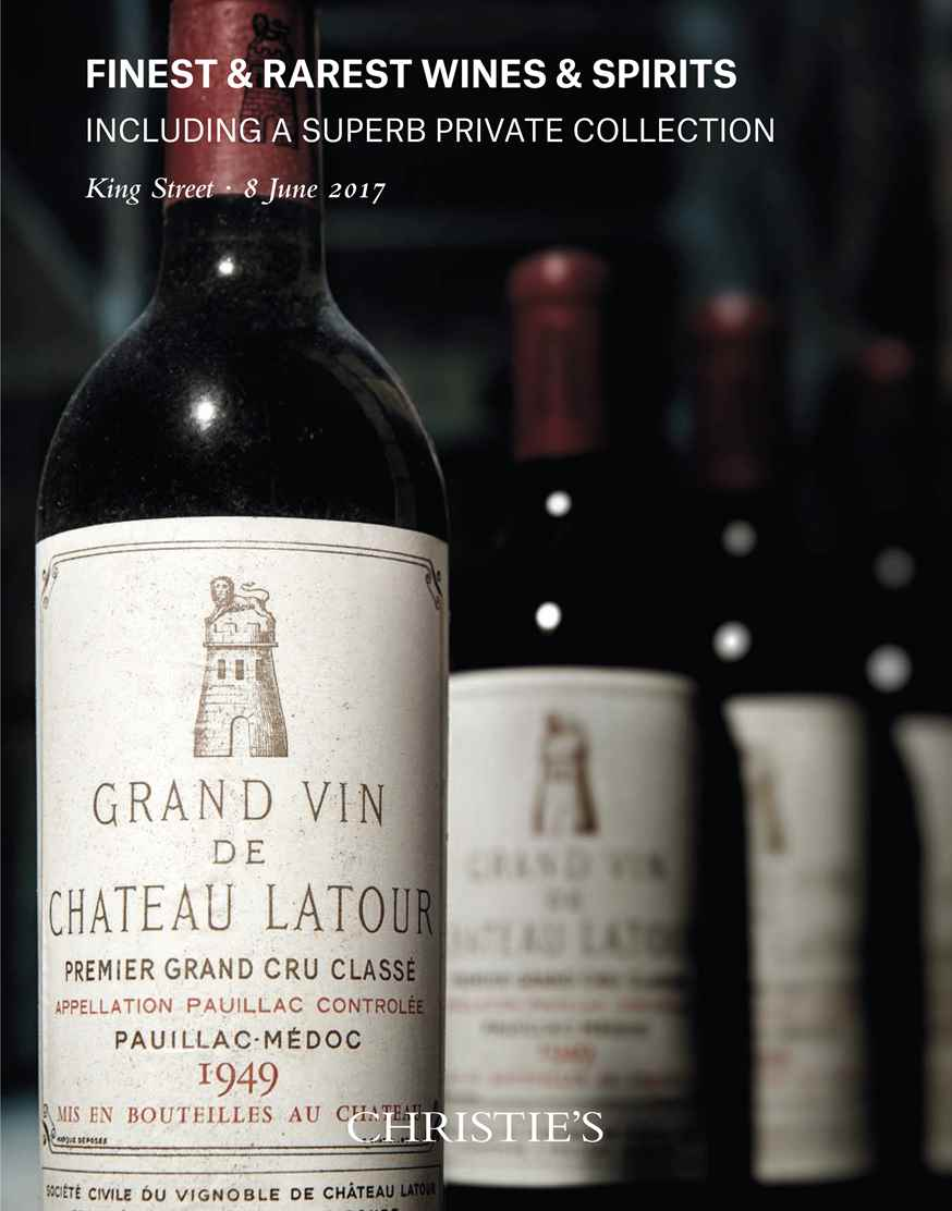 Fine & Rare Wines Including a Superb Private Collection