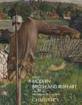 Modern British & Irish Art Eve auction at Christies
