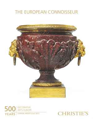 The European Connoisseur 500 Y auction at Christies