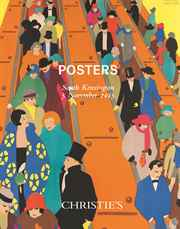Posters auction at Christies