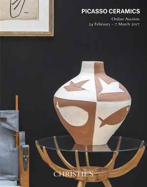 Picasso Ceramics: Online auction at Christies