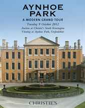 Aynhoe Park - A Modern Grand T auction at Christies