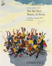 The Ski Sale, Travel in Style auction at Christies
