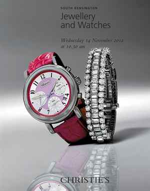 Jewellery and Watches auction at Christies
