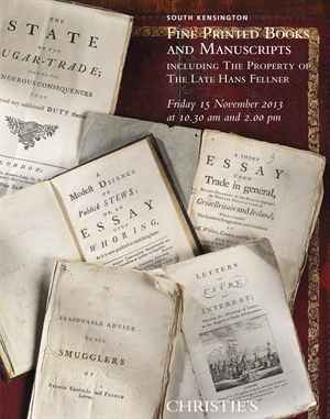 Fine Printed Books and Manuscripts