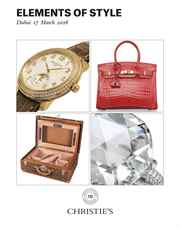Elements of Style auction at Christies