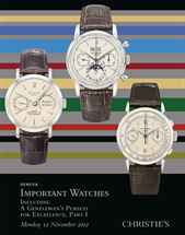 Important Watches, including A auction at Christies