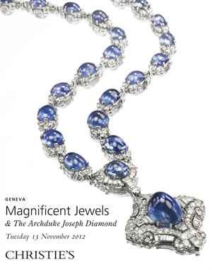 Magnificent Jewels & The Archduke Joseph Diamond