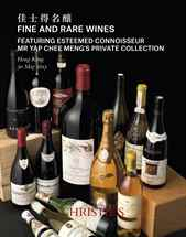Fine & Rare Wines Featuring Es auction at Christies